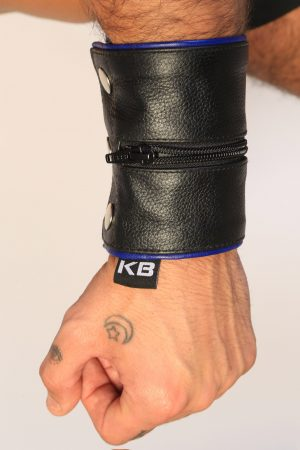 Kristen Bjorn Leather Wristband