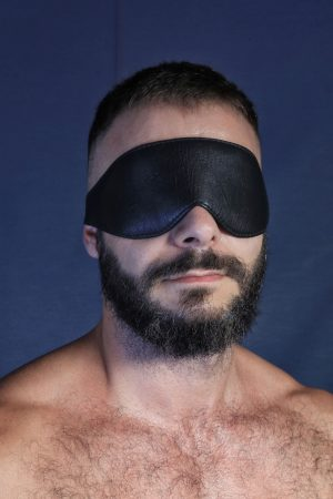 KB Leather eye Mask