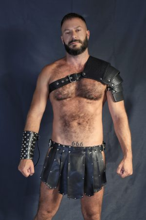 KB Leather Kilt I