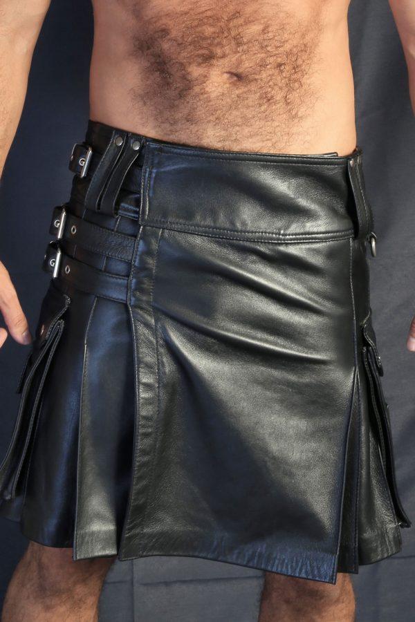 KB Leather Kilt III