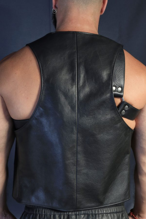 KB Leather Waistcoat