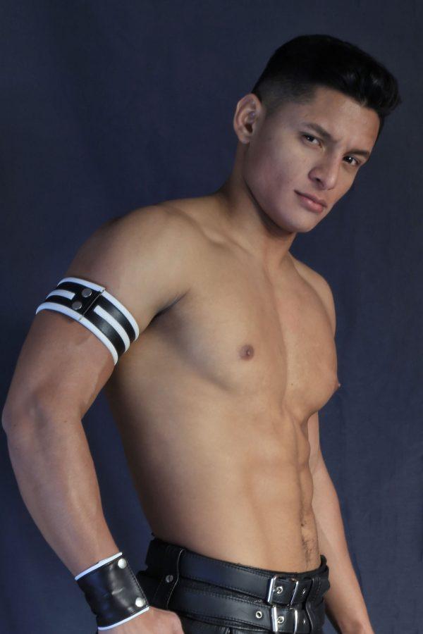 KB Armband White Santiago Rodriguez
