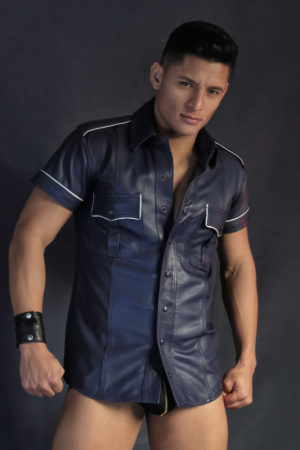 KB Leather Shirt