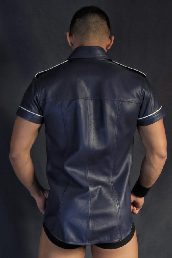 KB Leather Shirt Santiago Rodriguez