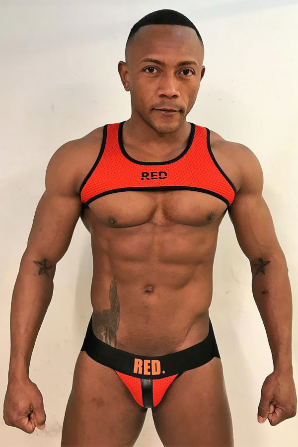 KB RED Jockstrap Red Santi Sexy