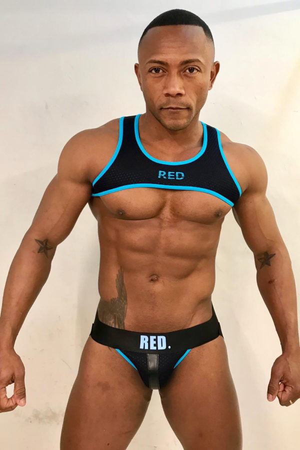 KB RED Jockstrap Blue Santi Sexy