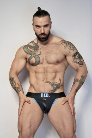 Kristen Bjorn Gay Jockstrap for men Max Hilton