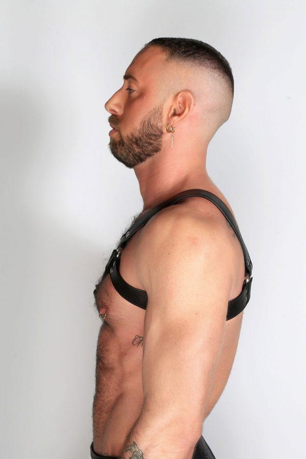 Kristen Bjorn Gay Leather Harness