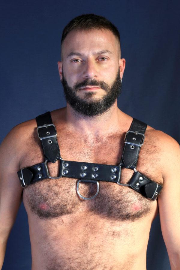 Viktor Rom Gay Leather Harness