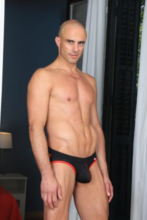 Manly Best KB gay black Jockstrap