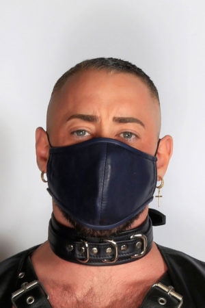 Kristen Bjorn Leather Mask Covid