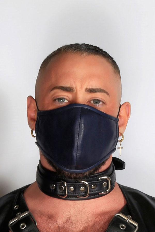 Kristen Bjorn Leather Mask Covid