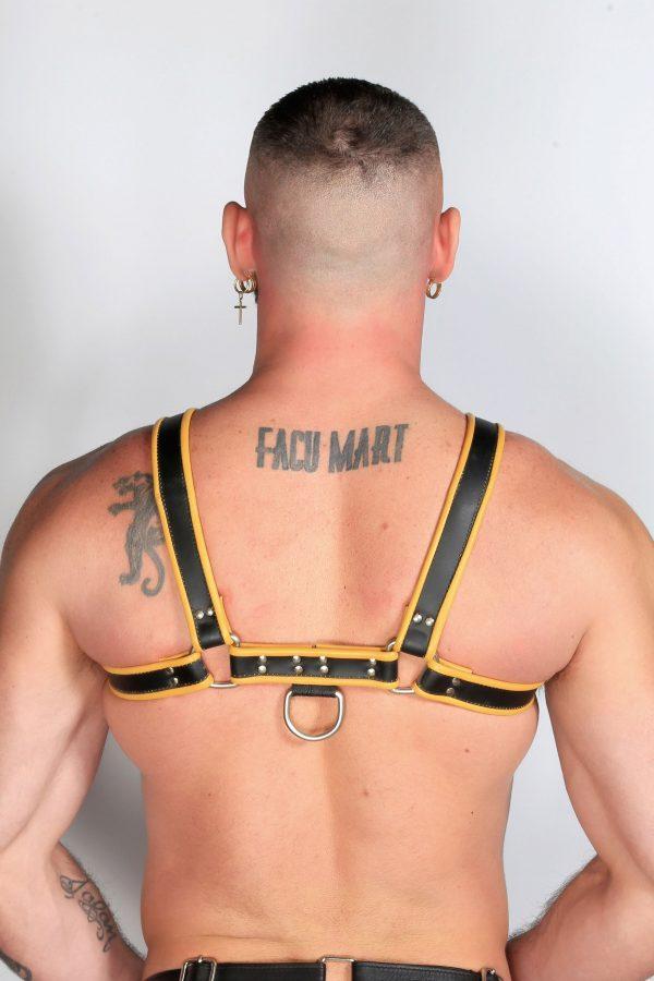 Kristen Bjorn Yellow Leather Harness